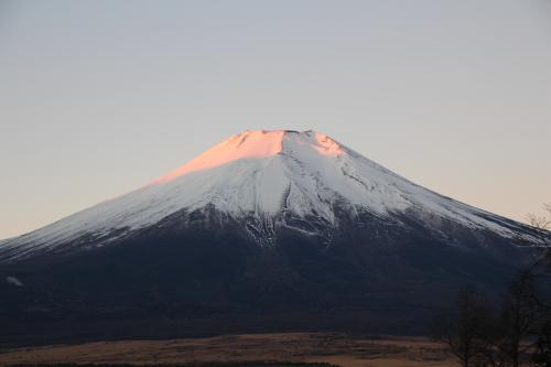 朝焼けの富士・1.JPG