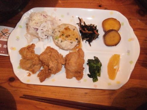 槍沢ロッジの夕食・3.jpg